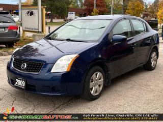 Used 2009 Nissan Sentra 2.0 FE+|CVT|LOW KM|AUX PORT|WARRANTY|CERTIFIED for sale in Oakville, ON