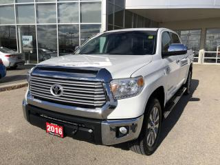 Used 2016 Toyota Tundra Limited  for sale in Winnipeg, MB