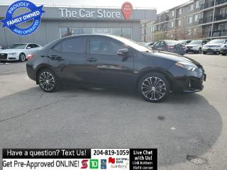 Used 2015 Toyota Corolla S. HTD sEAT Sunroof REAR CAM Push start NO ACCIDEN for sale in Winnipeg, MB
