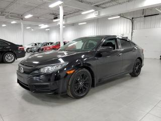 Used 2016 Honda Civic LX - CAMERA + BLUETOOTH + SIEGES CHAUFFANTS !!! for sale in Saint-Eustache, QC
