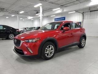 Used 2017 Mazda CX-3 GS - CAMERA + S. CHAUFFANTS + JAMAIS ACCIDENTE !!! for sale in Saint-Eustache, QC
