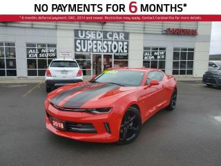 Used 2018 Chevrolet Camaro 2LT, Leather, Memory Seat, Bose Audio. for sale in Niagara Falls, ON