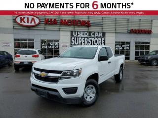 Used 2016 Chevrolet Colorado 6 Speed Manual, Reverse Camera. for sale in Niagara Falls, ON