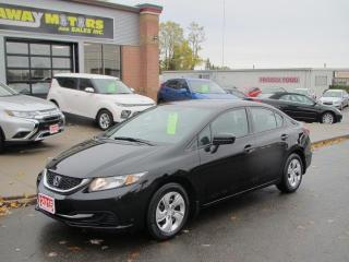 Used 2015 Honda Civic LX Sedan CVT for sale in Brockville, ON