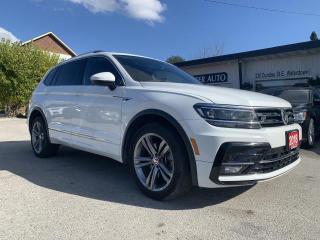 Used 2018 Volkswagen Tiguan R LINE for sale in Waterdown, ON