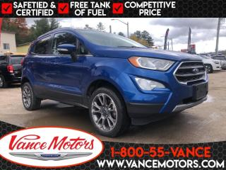 Used 2019 Ford EcoSport Titanium 4x4 for sale in Bancroft, ON