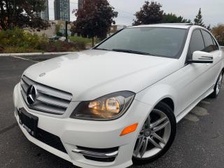 Used 2013 Mercedes-Benz C-Class C 300  ALL WHEEL DRIVE NO ACCIDENT for sale in Concord, ON