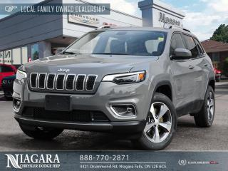 New 2021 Jeep Cherokee Limited for sale in Niagara Falls, ON