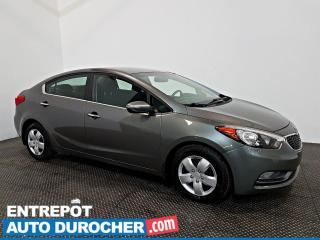 Used 2016 Kia Forte EX AIR CLIMATISÉ - Caméra de Recul for sale in Laval, QC