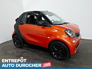 Used 2017 Smart fortwo Passion Décapotable - NAVIGATION - A/C for sale in Laval, QC