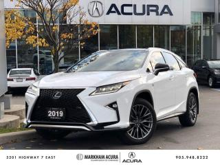 Used 2019 Lexus RX 350 F Sport Series 3 for sale in Markham, ON