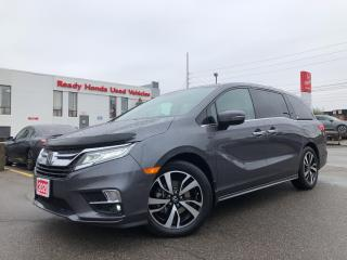 Used 2020 Honda Odyssey Touring - Navigation - DVD - Leather - Sunroof for sale in Mississauga, ON