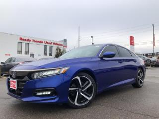 Used 2019 Honda Accord Sedan Sport 2.0 - Sunroof - Lane Watch - Rear camera for sale in Mississauga, ON