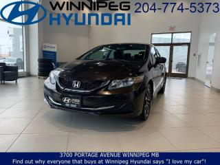 Used 2014 Honda Civic Sedan EX for sale in Winnipeg, MB