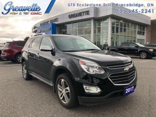 Used 2017 Chevrolet Equinox Premier  - Leather Seats for sale in Bracebridge, ON