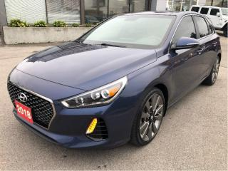 Used 2018 Hyundai Elantra GT 1.6L Turbo, Auto, Leather, Sunroof, Heated Seats, for sale in Hamilton, ON