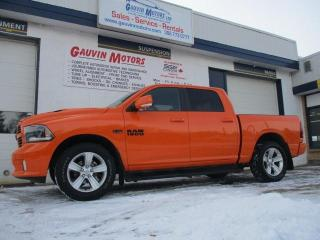 Used 2015 RAM 1500 IGNITION ORANGE SPORT PACKAGE LOADED for sale in Swift Current, SK