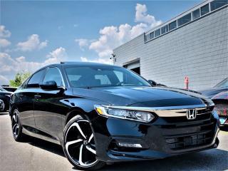 Used 2019 Honda Accord Sedan SPORTS CVT|PUSH START|HEATED SEATS|SUNROOF|APPLE CARPLAY! for sale in Brampton, ON
