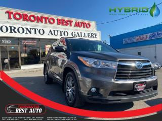 Used 2016 Toyota Highlander HYBRID AWD 4dr XLE 7 SEATS! SUNROOF! LEATHER! NAV! BACK UP CAM! for sale in Toronto, ON