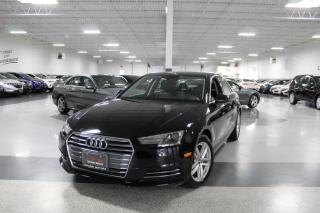 Used 2017 Audi A4 QUATTRO I HEATED SEATS I LEATHER I SUNROOF I POWER OPTIONS for sale in Mississauga, ON