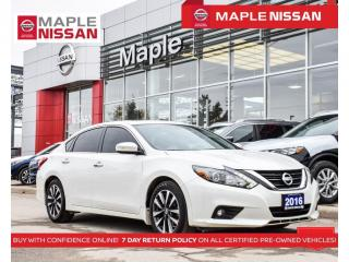 Used 2016 Nissan Altima 2.5 SL Navi Blind Spot Moonroof Rear Cam Bluetooth for sale in Maple, ON