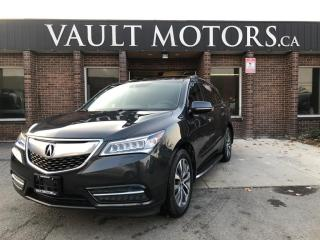 Used 2015 Acura MDX SH-AWD 4dr Tech Pkg ELITE for sale in Brampton, ON
