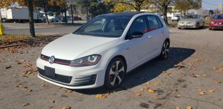 Used 2017 Volkswagen Golf GTI 5dr HB DSG Autobahn | Factory Warranty | Navi | Carbon FIber for sale in Concord, ON
