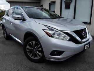 Used 2015 Nissan Murano SV FWD - NAVIGATION! BACK-UP CAM! REMOTE START! PANO ROOF! for sale in Kitchener, ON