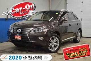 Used 2013 Lexus RX 350 AWD TOURING | SHOWROOM CONDITION for sale in Ottawa, ON