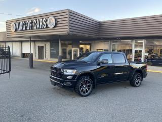 Used 2020 RAM 1500 LARAMIE - ECO DIESEL SPORT APPEARANCE for sale in Langley, BC