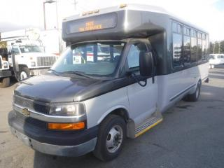 Used 2014 Chevrolet Express G4500 21 Passenger Bus with Wheelchair Accessibility for sale in Burnaby, BC