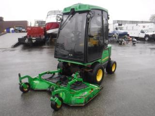 Used 2011 John Deere Lawnmower 1545 Series II AWD Diesel with Fastback 72 Deck for sale in Burnaby, BC