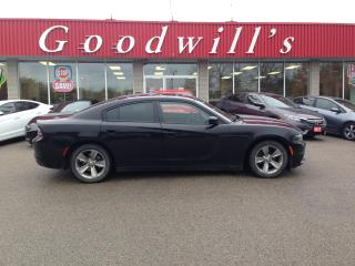 Used 2016 Dodge Charger SXT! CLEAN CARFAX! NAV! POWER ROOF! for sale in Aylmer, ON