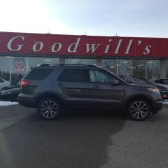 Used 2015 Ford Explorer XLT! CLEAN CARFAX! HEATED LEATHER! 6 PASSENGER! for sale in Aylmer, ON