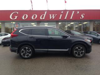 Used 2017 Honda CR-V TOURING! CLEAN CARFAX! HEATED LEATHER! NAV! BT! for sale in Aylmer, ON