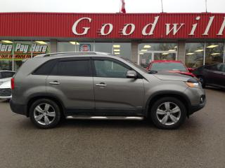 Used 2012 Kia Sorento EX! HEATED LEATHER! BLUETOOTH! NAV! SUNROOF! for sale in Aylmer, ON