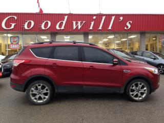 Used 2013 Ford Escape SEL! HEATED LEATHER! REMOTE START! NAV! BT! CAM! for sale in Aylmer, ON