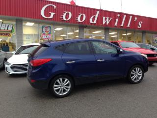 Used 2013 Hyundai Tucson LTD! HEATED LEATHER! SUNROOF! NAV! B/T! for sale in Aylmer, ON