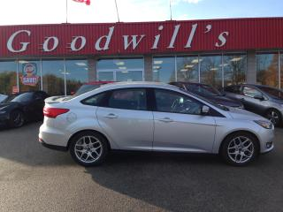 Used 2015 Ford Focus SE! HEATED LEATHER! NAV! BACKUP CAM! for sale in Aylmer, ON
