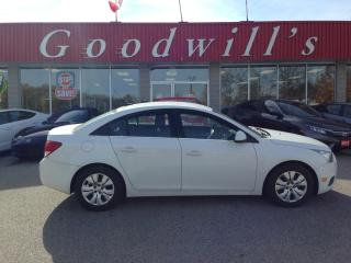 Used 2013 Chevrolet Cruze LT! REMOTE START! CAMERA! BLUETOOTH! for sale in Aylmer, ON