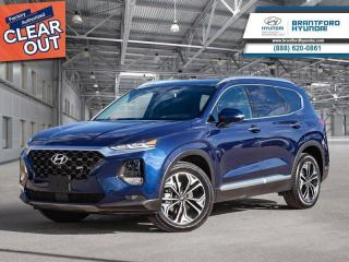 New 2020 Hyundai Santa Fe 2.0T Ultimate AWD  - Navigation - $269 B/W for sale in Brantford, ON