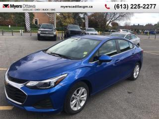 Used 2019 Chevrolet Cruze LT  - Apple CarPlay -  Android Auto for sale in Ottawa, ON