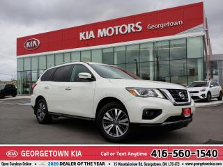 Used 2017 Nissan Pathfinder SL | CLEAN CARFAX | 7 PASS | B/U CAM | 82,319 KM | for sale in Georgetown, ON