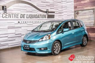 Used 2013 Honda Fit Sport+BLUETOOTH+GR/ELECT+REG/VITESSE for sale in Laval, QC