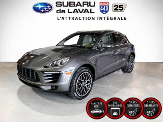 Used 2016 Porsche Macan S ** Cuir Toit Navigation ** for sale in Laval, QC