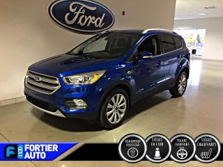 Used 2017 Ford Escape 4 RM 4 portes Titanium for sale in Montréal, QC