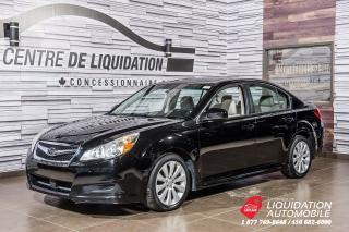 Used 2010 Subaru Legacy Limited Moon+AWD+TOIT+CUIR+SIEGE/CHAUFF for sale in Laval, QC
