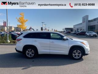 Used 2015 Toyota Highlander LE  -  Bluetooth - $194 B/W for sale in Ottawa, ON