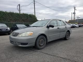Used 2004 Toyota Corolla CE for sale in St-Eustache, QC