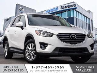 Used 2016 Mazda CX-5 0.99%@FINANCE|CPO|GS|LEATHER|AWD|NAV|CLEAN CARFAX for sale in Scarborough, ON